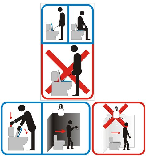 Toilet Designs wc sign clipart best
