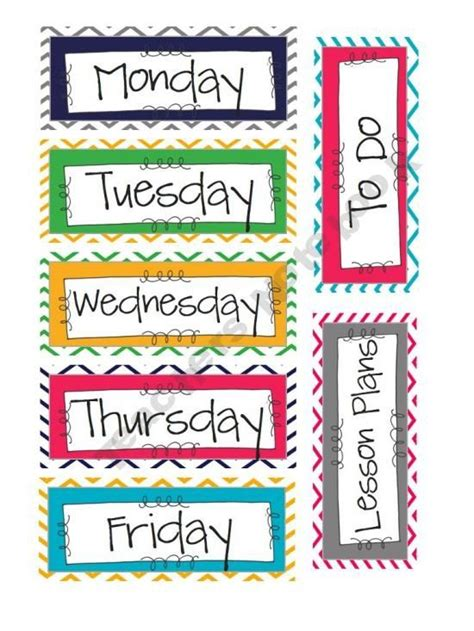 printable labels for kindergarten classroom chevron classroom supply labels kindergarten pinterest