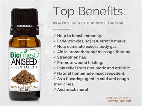 10ml Aniseed Essential And Nusaroma biofinest 100 aniseed essential best for aromatherapy