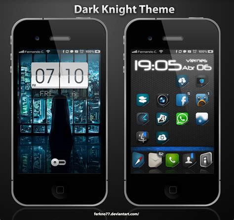 themes for iphone dark knight theme iphone 4 4s by ferkno77 on deviantart