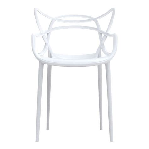 chaise master chaise masters kartell blanc chaise
