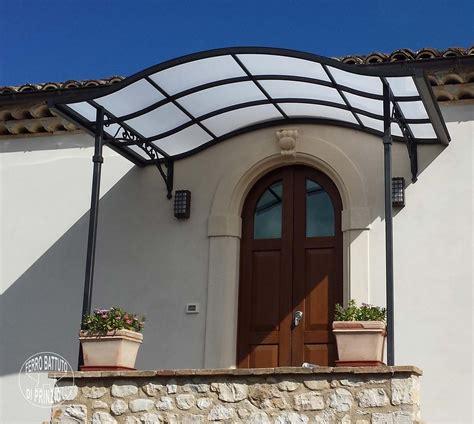 tettoia per porta tettoie tettoie in ferro battuto tettoia per terrazzo