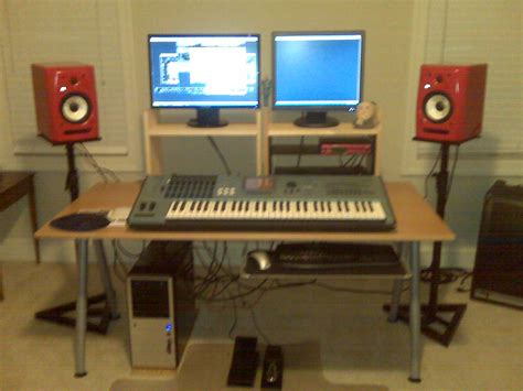 Computer Desk For Recording Studio Ikea Home Home Studio And Studios On