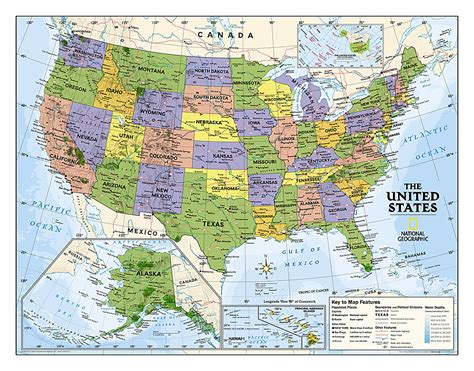 us geography map geography us maps with states
