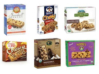 top 10 granola bars chewy granola bars recipe food network