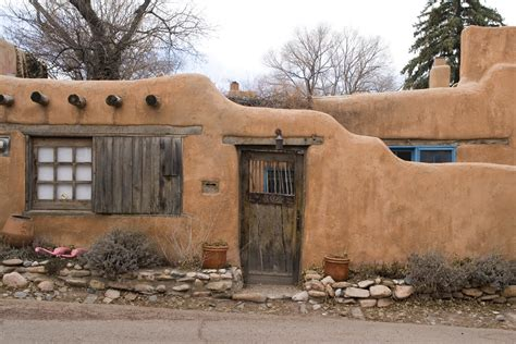 what is an adobe house architecture du jour the new mexico adobe house uncouth