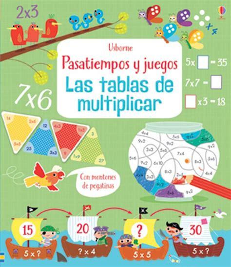 libro juegos matemticos y de las tablas de multiplicar at ediciones usborne