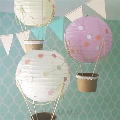 nursery themes hot air balloons whimsical hot air balloon decoration diy kit nursery