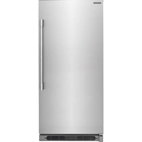built in single drawer refrigerator frigidaire 18 6 cuft professional stainless steel