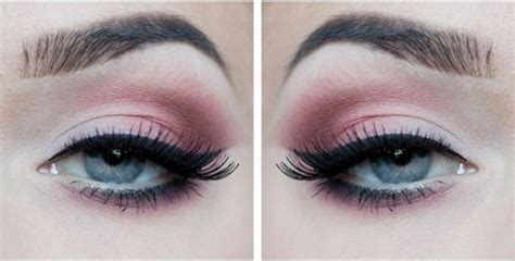 pink eyeshadow for blue makeup tips