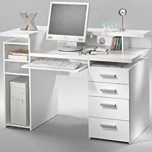 Computer Desk In White White Computer Desk Modern Computer Desk