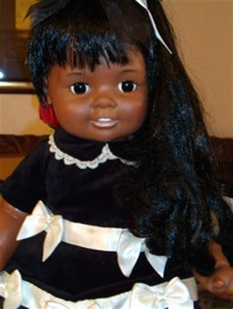 black doll 1970 15 quot vintage ideal american black velvet