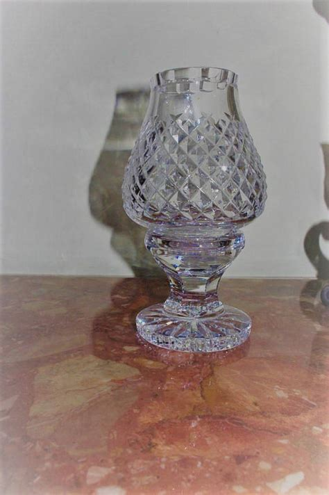 waterford crystal hurricane candle l waterford crystal hurricane candle l