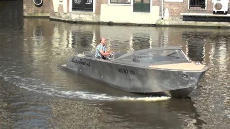 aluminum pram boats for sale jet thruster jt30 in aluminum retro tender 26 youtube