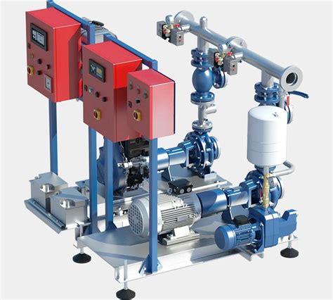 alimentazione pompe antincendio sistemi antincendio gruppi serbatoi riserve idriche