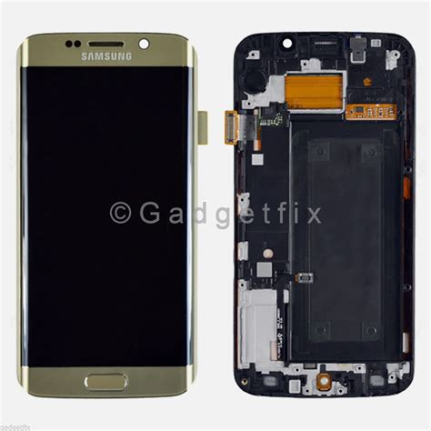 Lcd Touchscreen Ts Samsung Galaxy S6 oem gold samsung galaxy s6 edge g925a g925t lcd screen