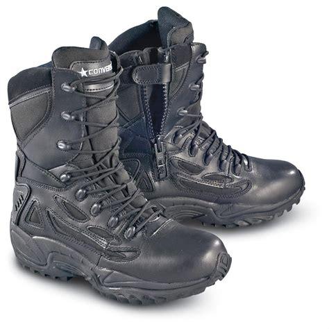 s converse 174 waterproof side zip duty boots black