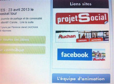 si鑒e social auchan site quot projet social quot auchan cftc valence quot guilherand