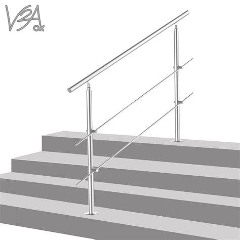 edelstahl treppe treppengel 228 nder edelstahl handlauf gel 228 nder real