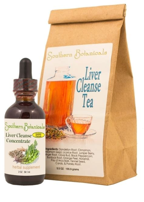 Herbal Tea For Liver Detox by Liver Cleanse Duo Organic Herbal Liver Detox Duo To