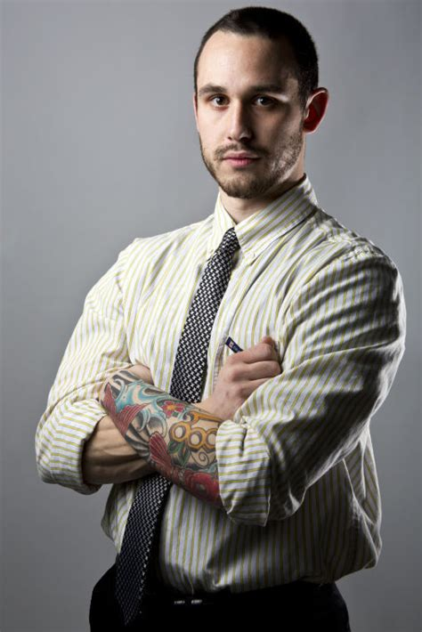 tattooed professionals tattoos in the workplace are becoming more acceptable