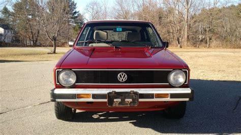 vintage volkswagen rabbit 1987 vw rabbit cabriolet wolfsburg cabby vintage
