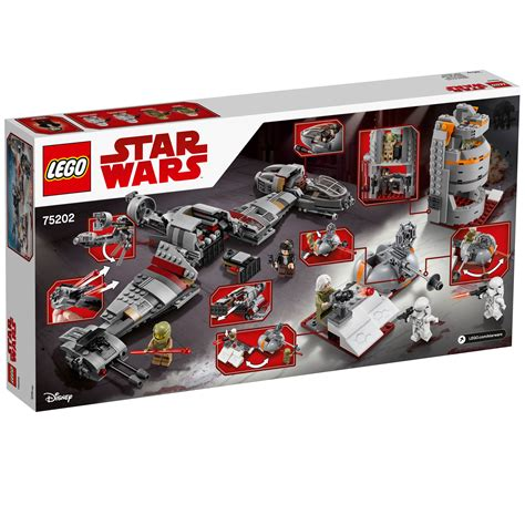 Ready Stock Lego Wars 75113 75202 lego wars defense of crait set 746 pieces age 9 new release for 2018 ebay