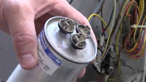 ac condenser fan motor run capacitor wiring diagram to condenser free printable wiring