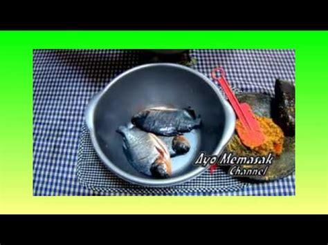 Pepes Bawal resep dan cara memasak pepes ikan bawal daun kemangi
