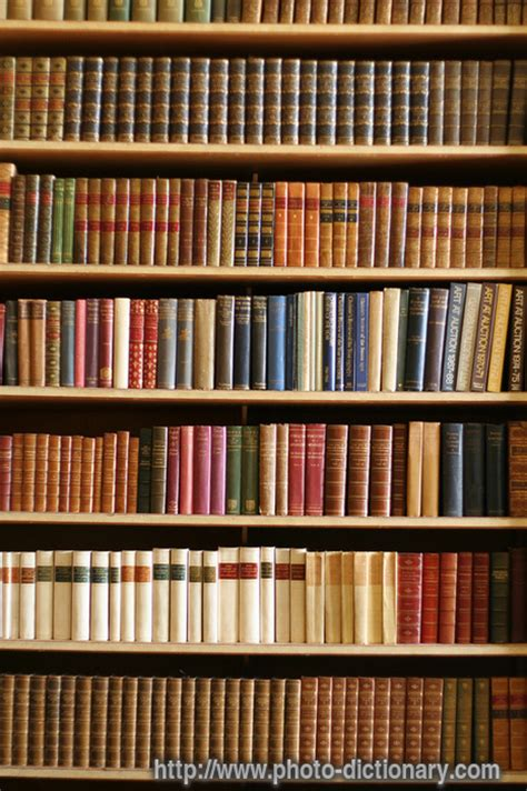 bookcase photo picture definition at photo dictionary