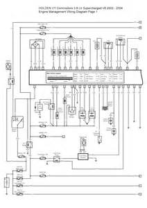 2002 2004 holden vy commodore 3 8 ltr supercharged v6 engine management wiring diagram 1
