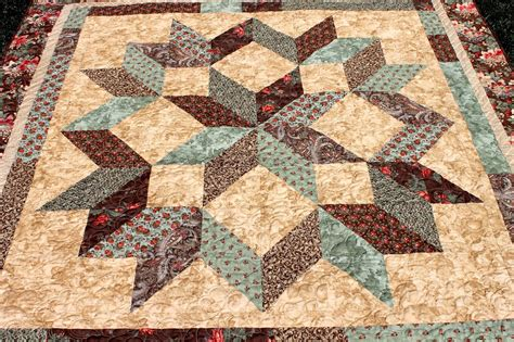 Carpenters Quilt Pattern by Latimer Carpenter And Feathers