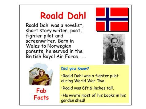 biography facts about roald dahl roald dahl day resources