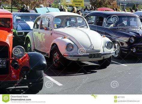 volkswagen classic car volkswagen beetle in classic car show editorial image