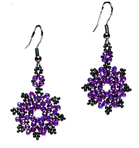 free seed bead earring patterns beaded earring patterns free patterns