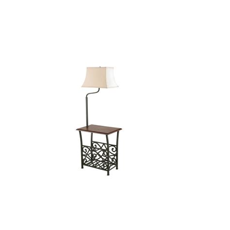 end table with light attached end table with l attached warisan lighting