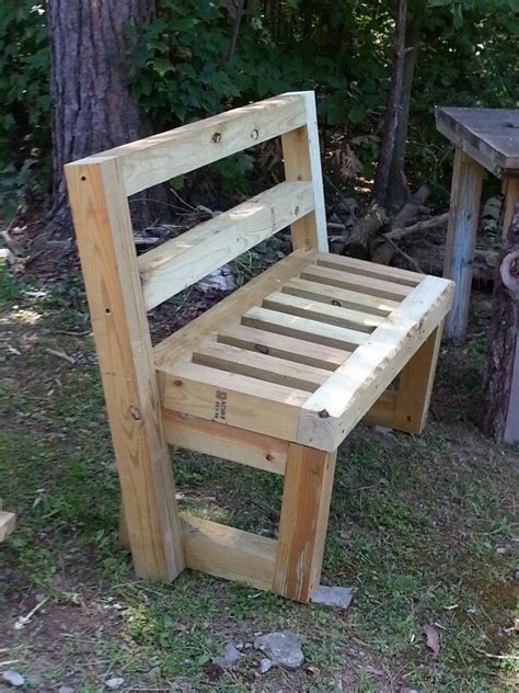 4x4 Garden Bench Benches Pinterest