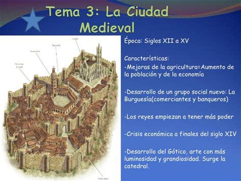 la formacion medieval de la ciuad medieval