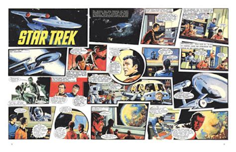 Trek Classic Omnibus the trek collective preview pages from trek the classic uk comics
