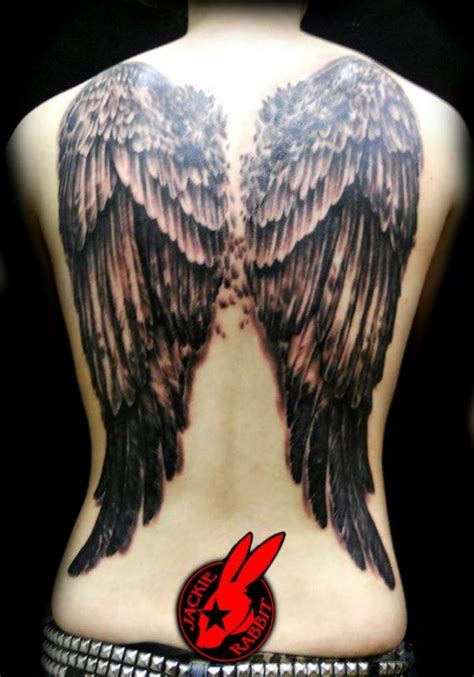 33 Best Angel Tattoos Ideas For Women Styles Weekly Back Wing Tattoos Designs