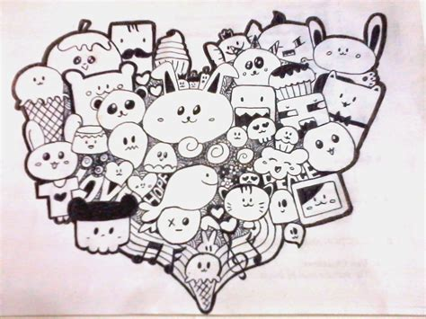 how to do a cool doodle on doodles kawaii and doodle