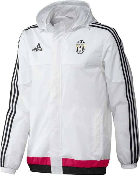 Jacket Waterproof Juventus 2016 all weather kway fc juventus adidas jacket 2015 16 white ebay