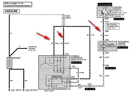 1988 ford f150 wiring diagram checked all wiring for charge system a 1988 ford