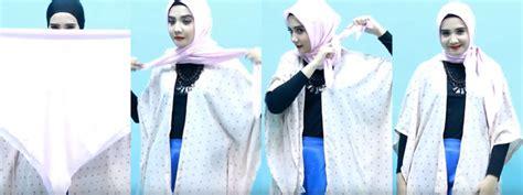 memakai hijab modis syari  cadar