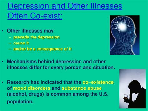 depression other mental illnesses caused by diseases it s not all in your books ppt human behavior problems and diseases powerpoint