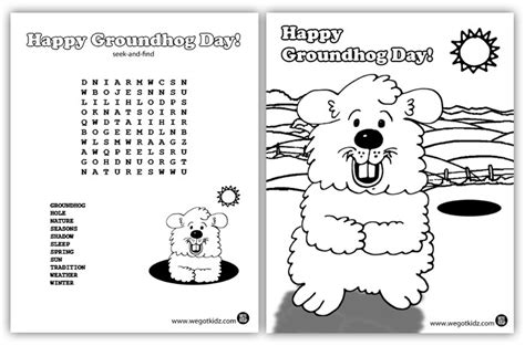 Groundhog Day Worksheet by Groundhog Day Printables Search Results Calendar 2015