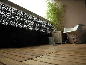 Apartment Balcony Railing Privacy Covers Look Small Camouflaged Balcony Terrace The Balcony And