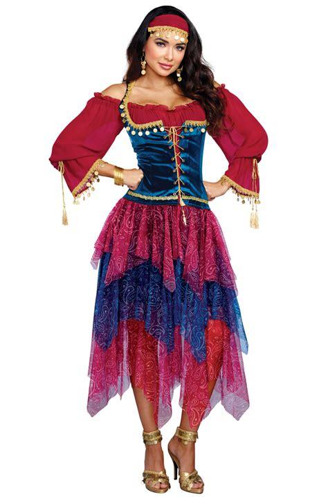 gypsy adult costume purecostumescom