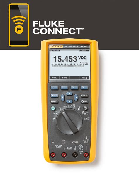 Multimeter Fluke 287 fluke 287 trms logging multimeter with trend display at reichelt elektronik