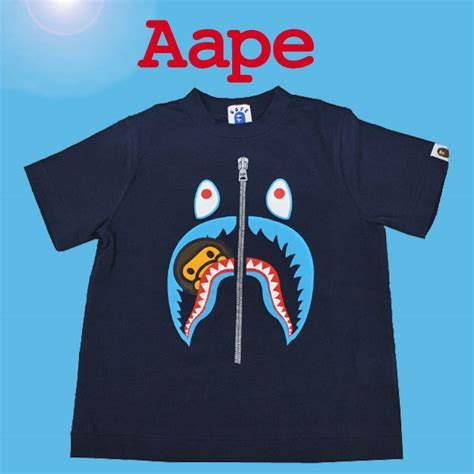 St Baby Milo Navy Kid heaven rakuten global market アベイシングエイプ a bathing ape エイプ bape child t shirt